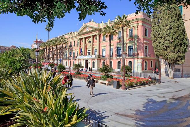 Murcia casa consistorial glorieta de espa a for Casas de citas en murcia